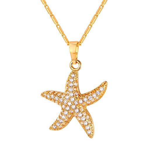 Cubic Zirconia Starfish Charm - 5