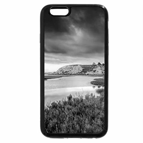iPhone 6S Case, iPhone 6 Case (Black & White) - River beauty