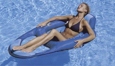 SwimWays 80014 Kelsyus Floating Lounger (Toy Lounge Pool)