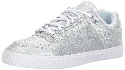 K-Swiss Women's Gstaad Neu Sleek SDE Sneaker Silver 6 M US