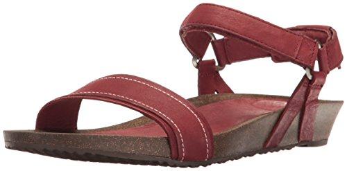 Teva Womens Wsidro Stitch Sandalo In Mattoni A Vista