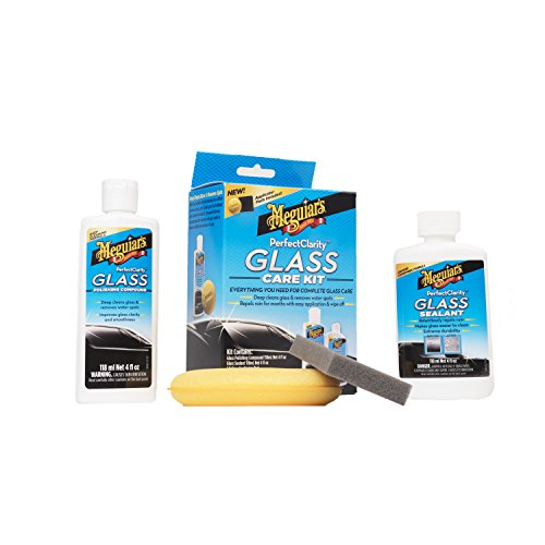 Meguiar's G8800 Perfect Clarity Glass Kit, 11 fl. oz, 1 Pack