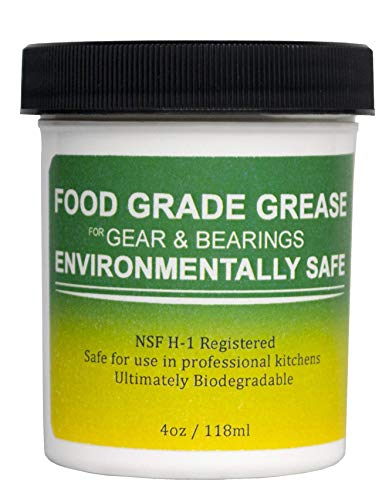 Food Grade Grease for KitchenAid Stand Mixer NOW Environmentally Friendly- MADE IN THE USA-Safest option for your kitchen. (Oil Kitchenaid Mixer)