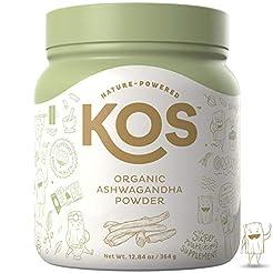KOS Organic Ashwagandha Powder | Natural...