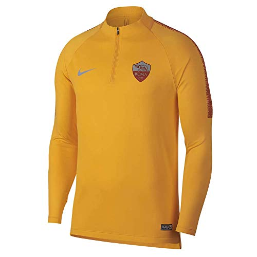 af47cd4f39df Nike 2018-2019 AS Roma Training Drill Top (University Gold)
