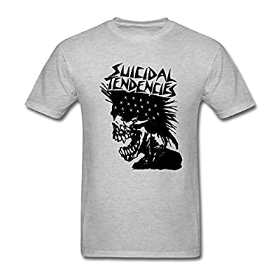 GNZGUYJR Suicidal Tendencies Art of Rebellion Men's T-Shirts