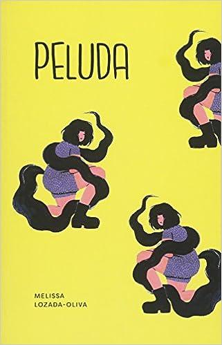 book cover for peluda by melissa lozada-oliva