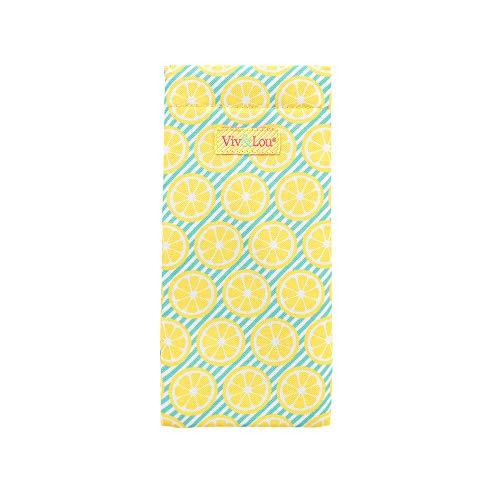 Patterned 3.5 X 7.75 Polyester Soft Shell Eyeglass Case
