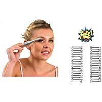 HARLLYCTION Eye Brow Hair Remover with free metal pin