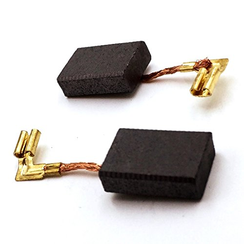 Replacement Set CB318 Motor Carbon Brushes (1 pair) for Makita Power Tools, Electric Tools, Sander, Grinder, Polisher, Drill Hammer, BO6040, GD0800C, 9565CV, PW5001C