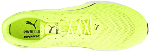 Puma Mens Ignite 3 Pwrcool Cross-trainer Scarpa Sicurezza Giallo-asfalto