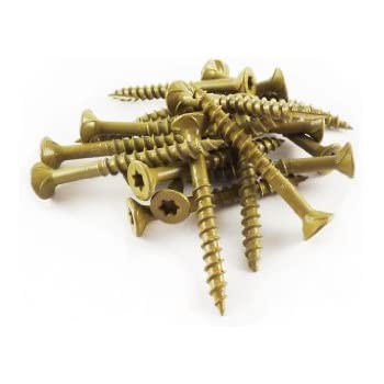 fastenmaster fmgd158 75 guarddog exterior wood screw tan