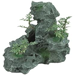 Zilla 11870 Granite Cave with Foliage, Small
