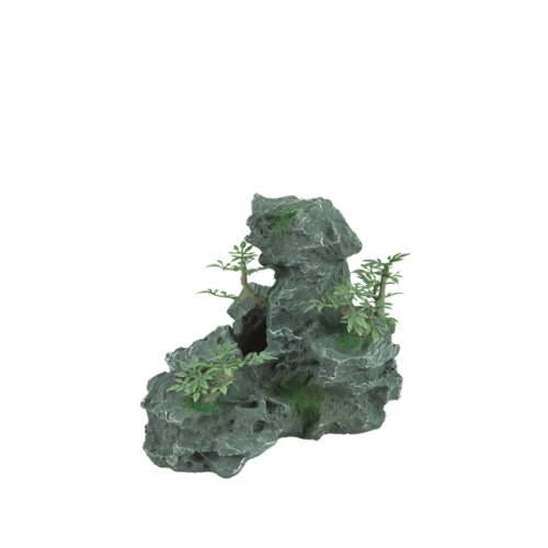 Zilla 11870 Granite Cave with Foliage, Small by Zilla