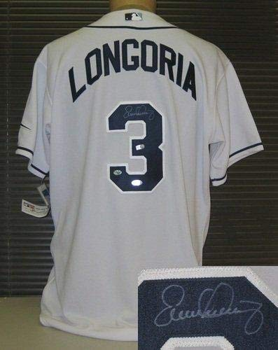 Autographed Evan Longoria Jersey - Autographed MLB Jerseys