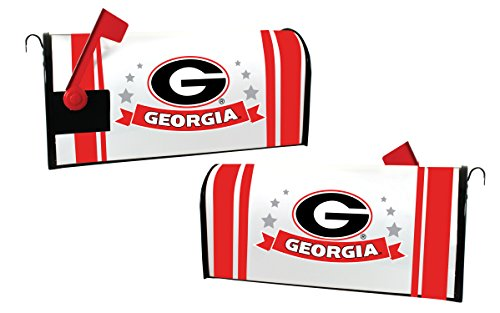 GEORGIA BULLDOGS MAILBOX COVER-UNIVERSITY OF GEORGIA MAGNETIC MAIL BOX COVER-NEW FOR 2016! (Georgia Bulldog Mailbox Cover)