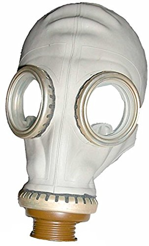 Military Outdoor Clothing Never Issued Russian Gas Mask (Costume) [Mask & Bag] (4) -
