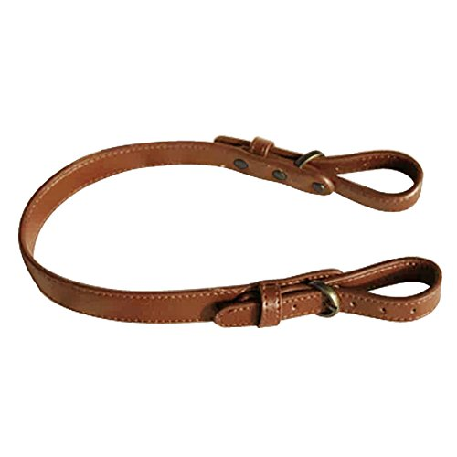 TopTie Adjustable Bag Strap Replacement, PU Strap For Handbag Purse-Camel / Bronze (Camel Leather Handbags)