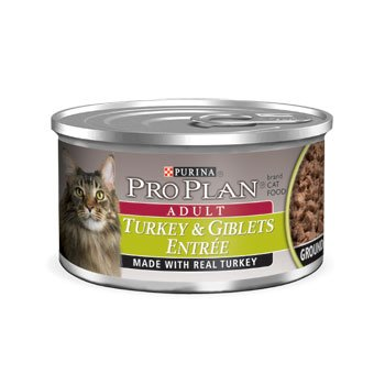 Pro Plan Total Care Adult Turkey and Giblets Canned Cat Food, My Pet Supplies
