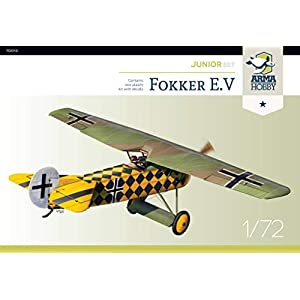 Arma Hobby 1/72 Scale Fokker E.V Junior Set - Airplane Series Plastic Model Kit #70013 1
