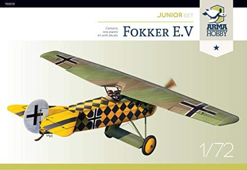 Arma Hobby 1/72 Scale Fokker E.V Junior Set - Airplane Series Plastic Model Kit #70013 1