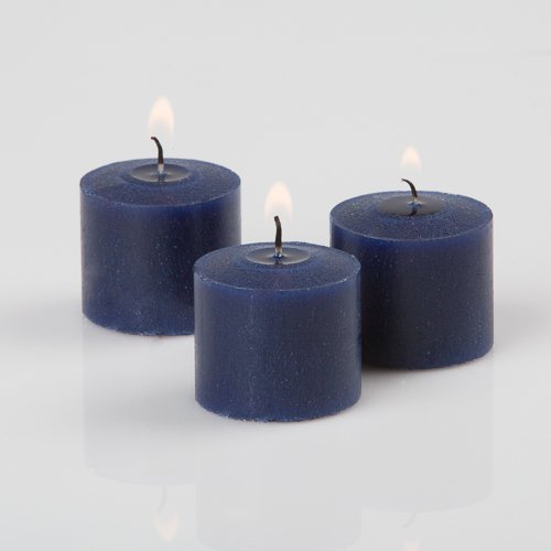 Richland Votive Candles Navy Blueberry Scented 10 Hour Burn Set of 144