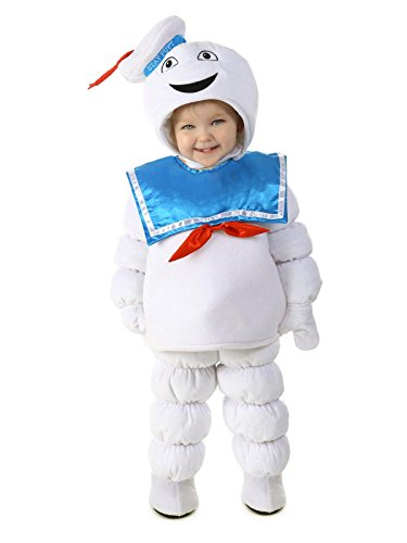 Kids Stay Puft Costumes (Princess Paradise Baby Boys Ghostbusters Stay Puft, White/Blue, Small)