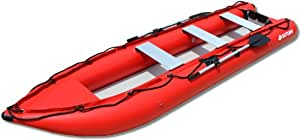 Saturn 14 ft Kaboat SK430 Inflatable Kayak/ Boat - Green