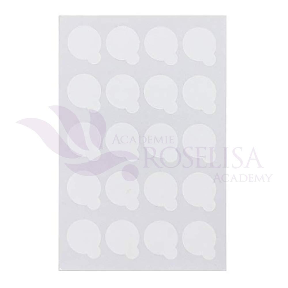 Disposable Eyelash Extension Glue Stickers (200 pcs) Roselisa Inc.