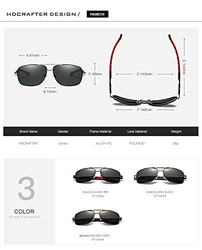 Lunettes Gratuite 1 Haute Mode Qualité Designer Polarisée Shangougu Livraison Soleil 3 Marque de Hommes Couleurs f1SAxn
