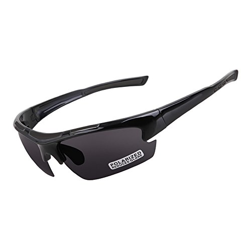 Coolrunner Cool Polarized Riding Sunglasses with Ultra light TR90 Frame-UV Protected for Outdoor Sports - Sunglasses Dumb