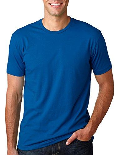 - Next Level Premium Fit Extreme Soft Rib Knit Jersey T-Shirt, Cool Blue, Medium