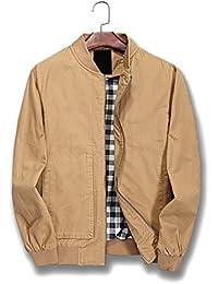 Men S Cotton Lightweight Jackets Amazon Com