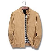 Men's Lightweight Slim Bomber Jacket Coat