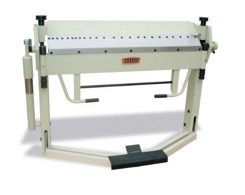 Baileigh BB-4012F Manual Sheet Metal Finger Brake, 0 - 135 Degree Bend Angle, 12-Gauge Mild Steel Capacity