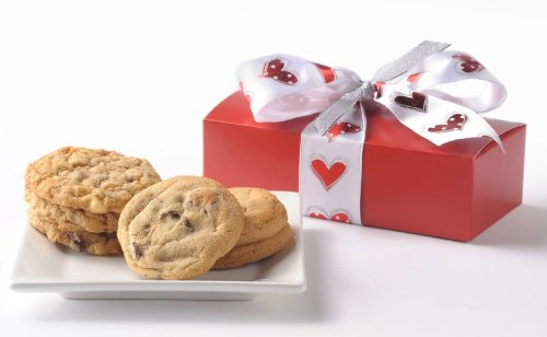 Heart Accented 6 Count Gourmet Cookie Gift