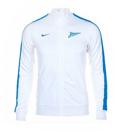 2013-14 Zenit Nike Authentic N98 Jacket (White)