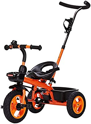 PLDDY sillas de paseo Carrito Triciclo Carro de bebé Bicicleta ...