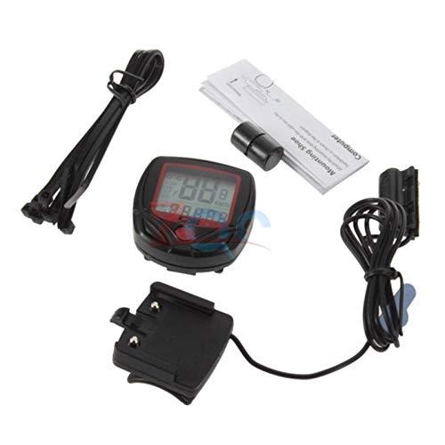 LCD Cycle Bike Bicycle Speedometer Odometer Waterproof  Stopwatch Tool