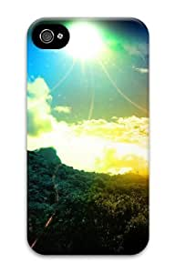 fun Case For Ipod Touch 5 Cover Colorful sky 3D Case For Ipod Touch 5 Cover