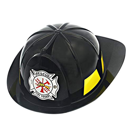 (Toyvian Firefighter Hat Helmet - Fireman Party Dress Up Hat, Kids Pretend Chief Hat)