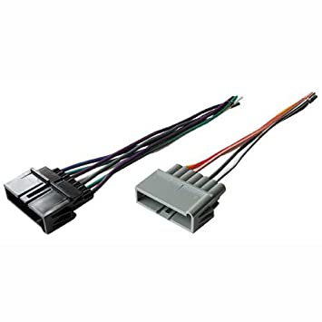41v5%2BD3t%2B5L._SY355_ amazon com stereo wire harness dodge ram pickup 94 95 96 97 98 99 dodge radio wiring harness at gsmx.co
