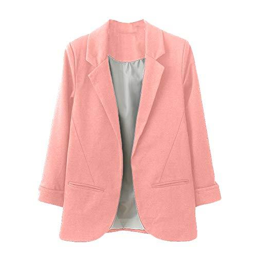 Hoodie Simple Revers Blouse À Hiver Sweatshirt Veste Rose Manteau Pullover Manches Blouson Capuche Femme Tops Shobdw Mode q80wzOI10