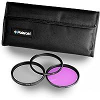 Polaroid Optics 58mm 3 Piece Filter Set (UV, CPL, FLD)