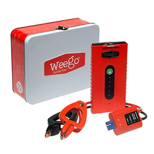 Weego Jump Starter 22 – Most Efficient, Jump Starts 5 Liter Gas
