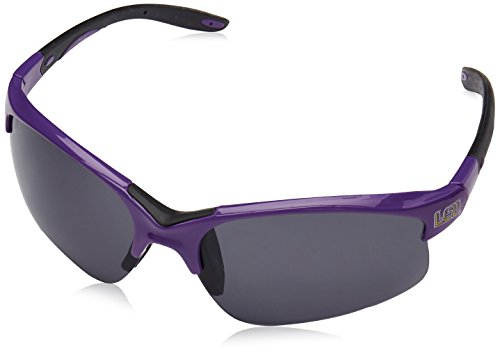 Lsu Tigers Logo Sunglasses - NCAA LSU Tigers Blade Sunglasses, Adult, Purple