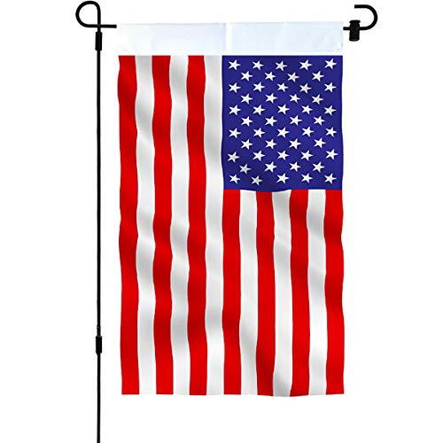 American Flag Garden Flag Double Sided USA Flag 12.5 x 18 In