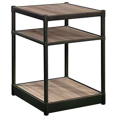 Sauder Barrister Lane Side Table, Salt Oak finish (Furniture Collections Lane Bedroom)