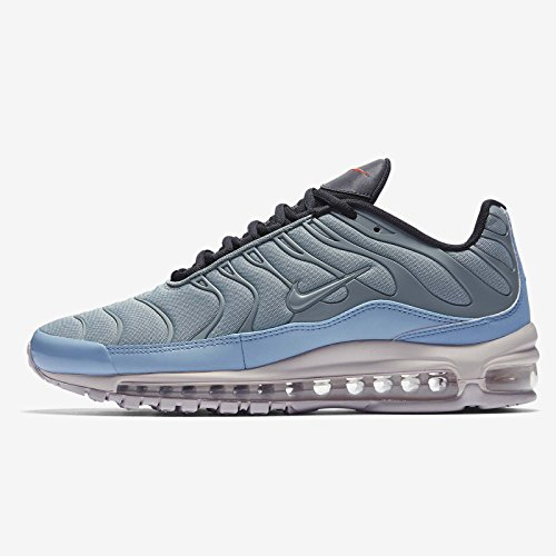 Price comparison product image NIKE Men's Air Max 97 Plus, MICA Green/Azul Leche/Orange, 9.5 M US