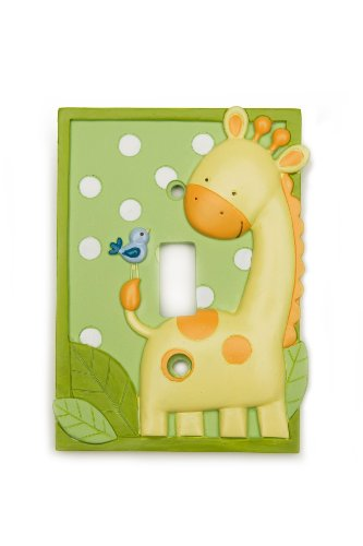 Kids Line Decor Shoppe Switchplate Cover, Giraffe (Discontinued by Manufacturer)
